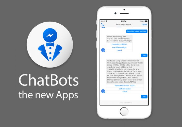 Chatbots – the Biggest IT Revolution after the iPhone?